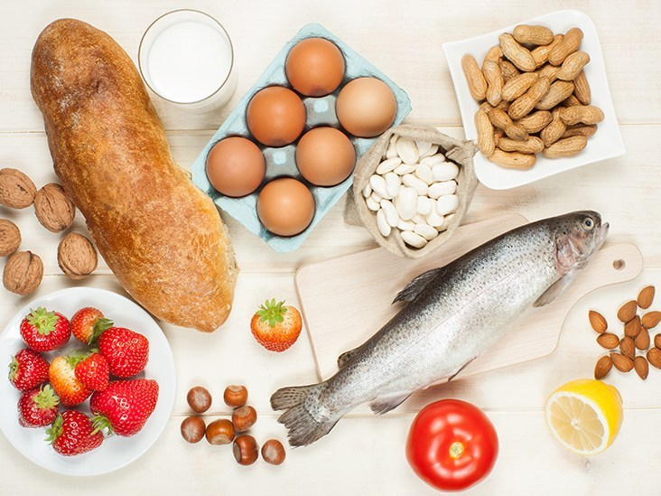 Food allergies which can develop at any age